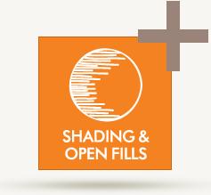 Shading & Open Fills